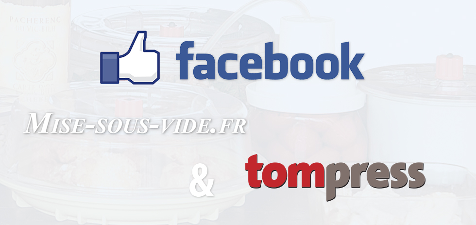 suivez mise sous vide et tom press sur facebook mise. Black Bedroom Furniture Sets. Home Design Ideas